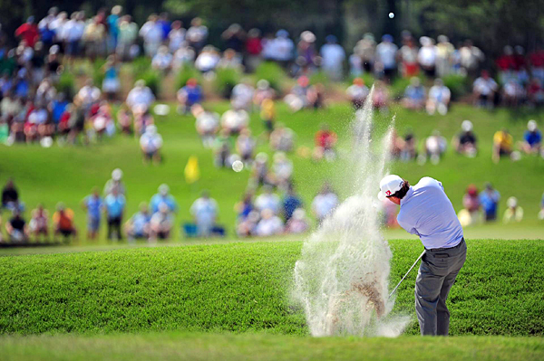 Mickelson made a move on his opening nine, but he shot a 4-over 40 coming in.