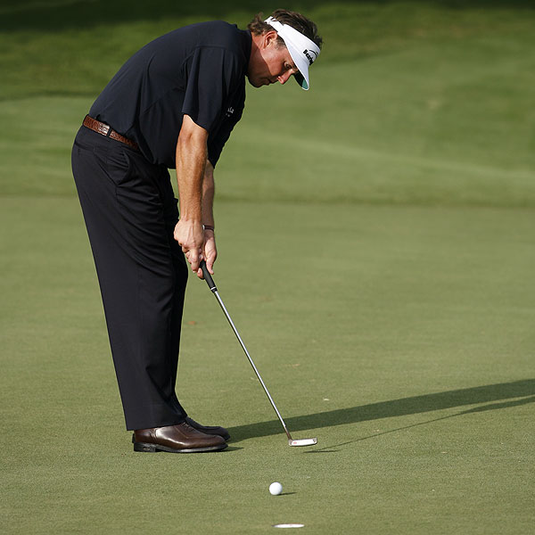 Mickelson began his round with birdies on Nos. 1 and 2.                                                      • More on Phil Mickelson                           • Dave Pelz: Free tips from Mickelson's short-game coach