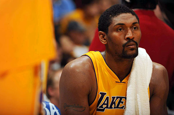 "Ron Artest                           Out of the blue, the Los Angeles Lakers star wrote an open letter to Woods in December: ""Dear Tiger, In reading the statements that you have made, I can tell you are a stand up guy. Please remember only Jesus is perfect."""