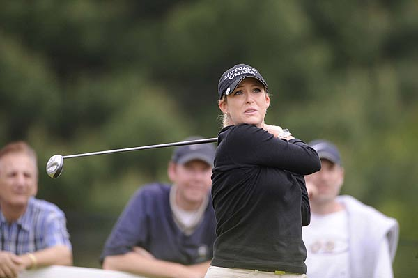 Cristie Kerr is two strokes off the lead after an opening-round 69.