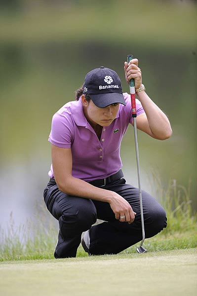 The LPGA's No. 1 player, Lorena Ochoa, had only one bogey in her opening round. She finished at four under par.