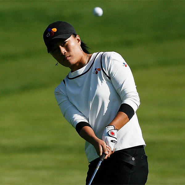 South Korea's Se Ri Pak was tied for second after a first-round 68 that included five birdies and an eagle.