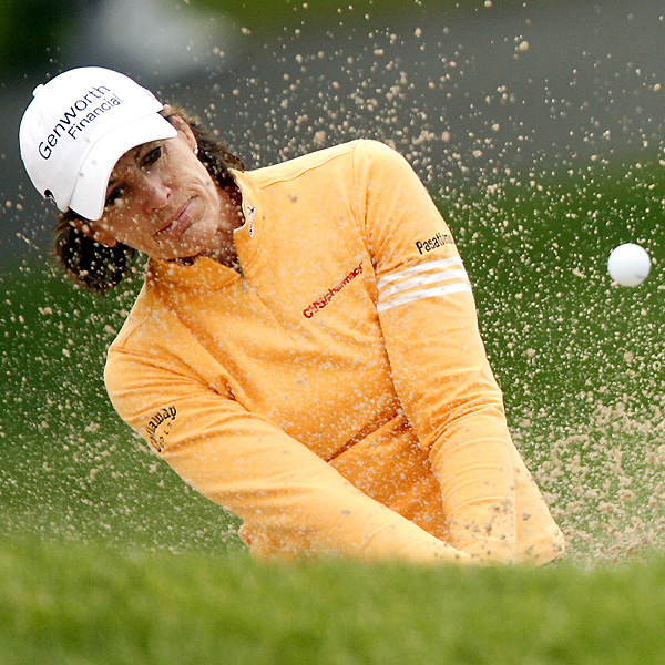 Julie Inkster shot even par and stands 11 strokes back.