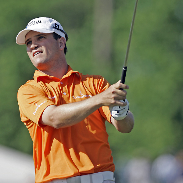 Zach Johnson, the 2004 AT&T champ, fired a three-under 69 and is three shots back.