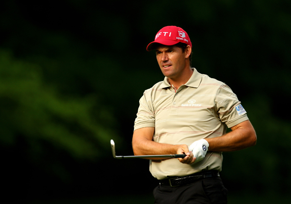 Padraig Harrington missed the cut after rounds of 73-75.