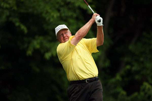You May Know Him From ... Five-time Tour winner; beat Tiger Woods in a playoff at 1998 Nissan Open.