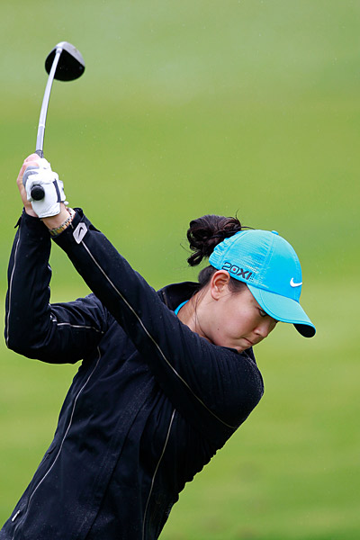 Wie faces Sophie Gustafson on Saturday.