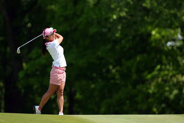 failed to birdie the 18th, and she lost to M.J. Hur, 1 up.
