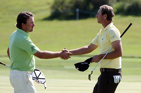 lost in the quarterfinals to Nicolas Colsaerts, 2 and 1.