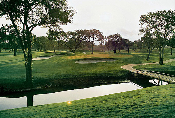Hosted the Texas Open from 1967-1970 and the 1968 PGA Championship.