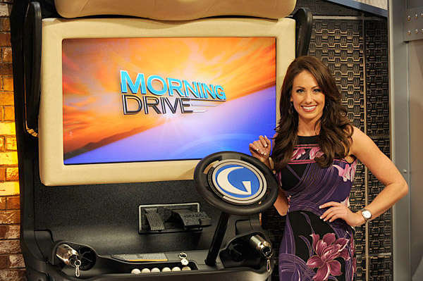 "Holly Sonders                             Sonders joined Golf Channel in January 2011 and appears on the talk show ""Morning Drive."""