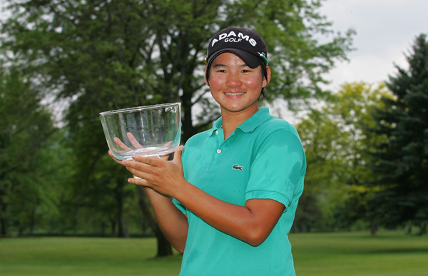 Final Round of the Corning Classic                           Yani Tseng birdied two of her final three holes to win by one stroke.