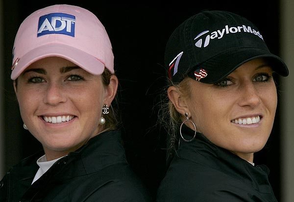Hottest Woman on Tour                                                      Almost 10,000 of you voted for the hottest woman on the LPGA Tour, and the race was nearly a dead heat. So, we decided to put them head-to-head in a final showdown for the title of Hottest Woman on Tour.                                                       Here's a closer look at your two leading ladies. Vote for your favorite at the end of the gallery.