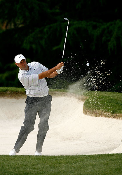 Stewart Cink made four birdies and two bogeys to finish at one under.