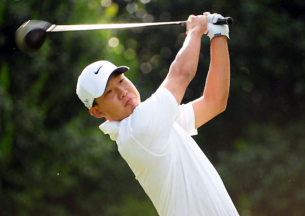Second Round of the Wachovia ChampionshipAnthony Kim birdied three of his final five holes to shoot a 67.