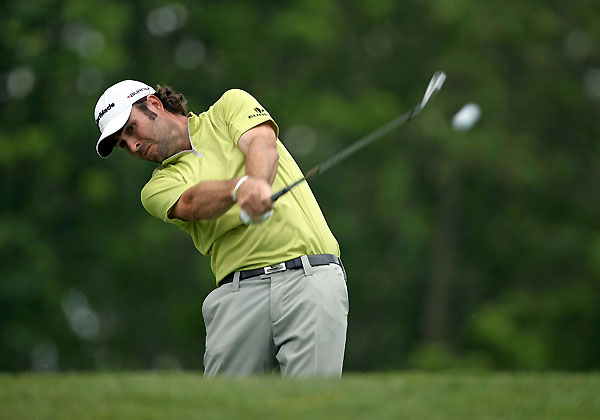Third Round of the Memorial Tournament                       Mathew Goggin shot a one-under 71, and he will start the final round with a three-shot lead as he tries to win his first PGA Tour event.