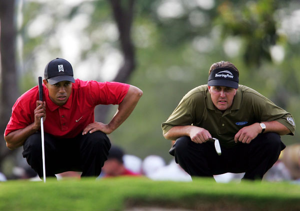 In 2005 at Doral, Woods edged Mickelson by a stroke in one of the most memorable Tiger-Phil showdowns.