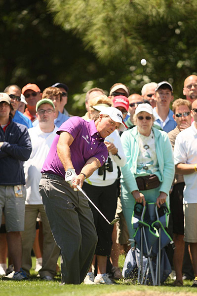 Phil Mickelson is looking to win at Quail Hollow after finishing second in 2010.