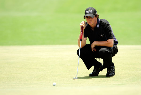 won last week at Quail Hollow, but he missed the cut at the Players.