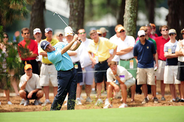 Fred Couples is four strokes off the lead after an opening-round 70.