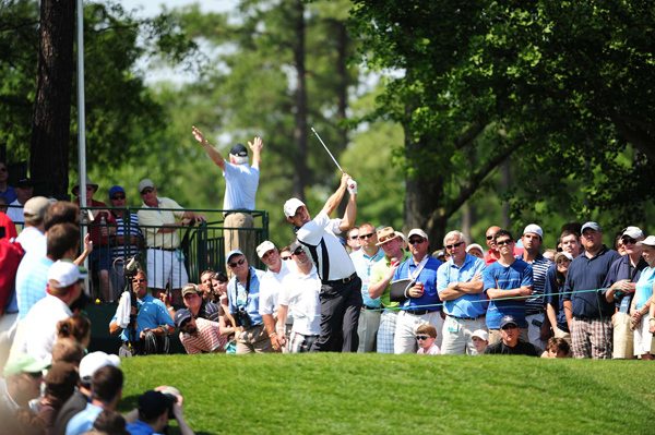 Harrington tied for ninth, but he was nearly disqualified for a rules violation. A fan reported Harrington might have teed off in front of the tee markers on the 13th hole. After an investigation, there wasn't conclusive evidence to prove there was a violation.