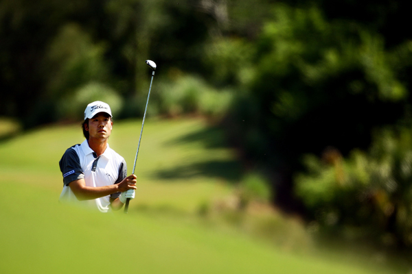 Kevin Na made six birdies and no bogeys to finish at seven under.
