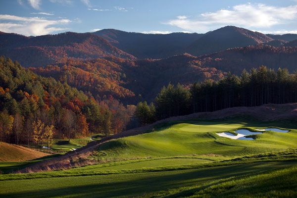 Sequoyah National Golf Club -- Cherokee, N.C.                                   Green fees: $65-$110                                   828-497-3000, sequoyahnational.com