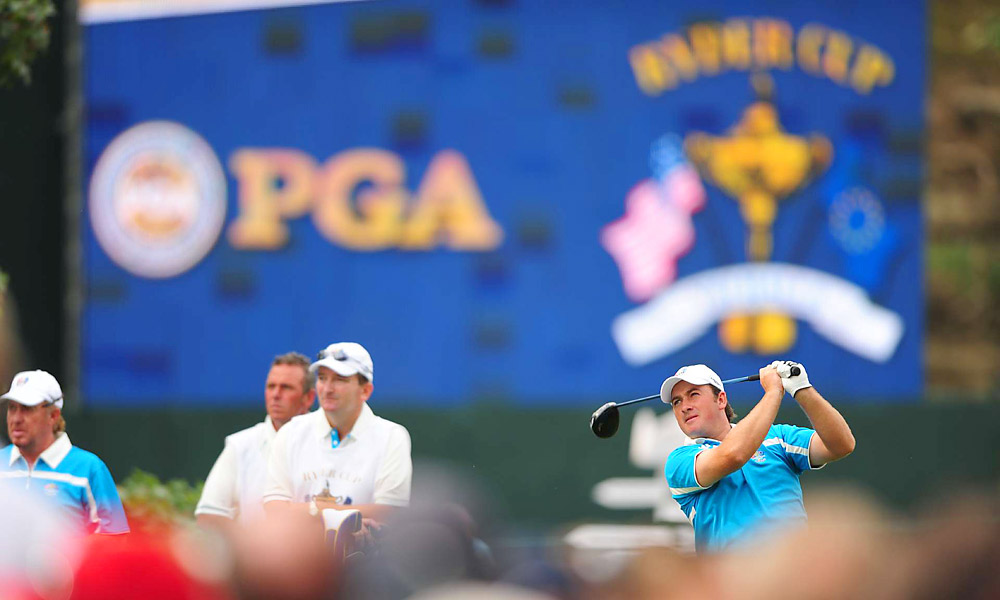 G-Mac's two wins in 2008 earned him a spot on the 2008 European Ryder Cup team, his first appearance in the event. He played well, finishing with a 2-1-1 record, but the Americans reclaimed the Cup.