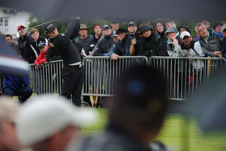 Rory McIlroy shot a three-under 67.