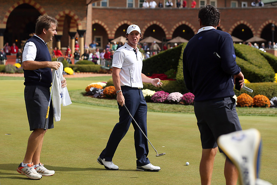 Rory McIlroy arrived at the course only 10 minutes before his tee time, having been confused by the time zone.