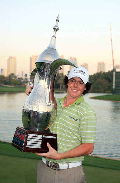 Rory McIlroy                           Before winning the 2011 U.S. Open as a 22-year-old, McIlroy triumphed at the 2009 Dubai Desert Classic on the European Tour at 19.