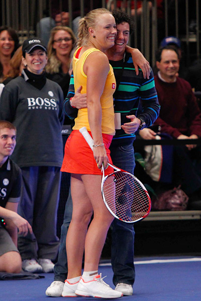 Wozniacki was the No. 1-ranked female tennis player in the world until recently. She is currently ranked No. 4.