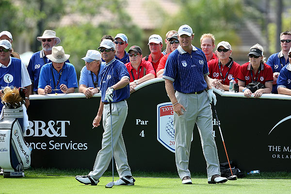 """""""It's about time we won this thing again,"""" said Ernie Els, Lake Nona's captain."""