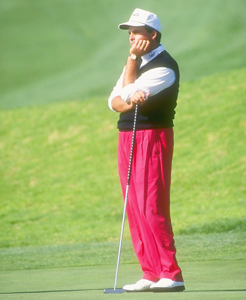 Rocco Mediate                       Mediate was the first player to win a PGA Tour event with a long putter at the 1991 Doral-Ryder Open.