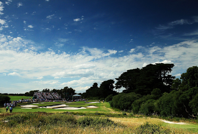 "Royal Melbourne (No. 13 on Top 100 Courses in the World): ""Snooker tables for greens and possibly the best bunkers in golf.""                                              More Top 100 Courses in the World: 100-76 75-5150-2625-1"