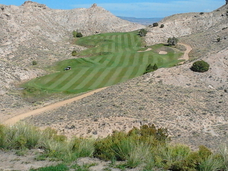 Black Mesa Golf Club --  Espanola, N.M.                           Submitted by Michael Frey
