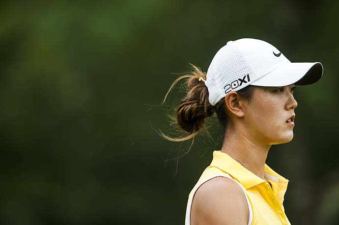 Michelle Wie at the Honda LPGA Thailand at Siam Country Club on Feb. 23, 2013, in Chon Buri, Thailand.