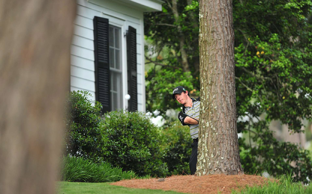Rory McIlroy, Masters: McIlroy began the final round with a four-shot lead but suffered a demoralizing collapse on Sunday at Augusta. After a one-over 37 on the front nine, he triple bogeyed the 10th on the way to a 43 on the back. The final-round 80 left him tied for 15th, 10 shots behind champion Charl Schwartzel.