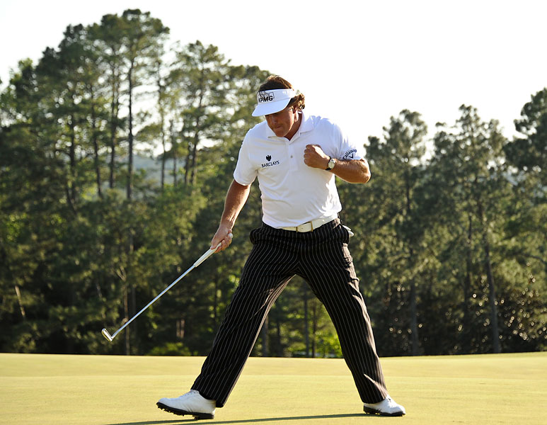 9. Phil Mickelson (June 16, 1970 - )                           42 PGA Tour wins