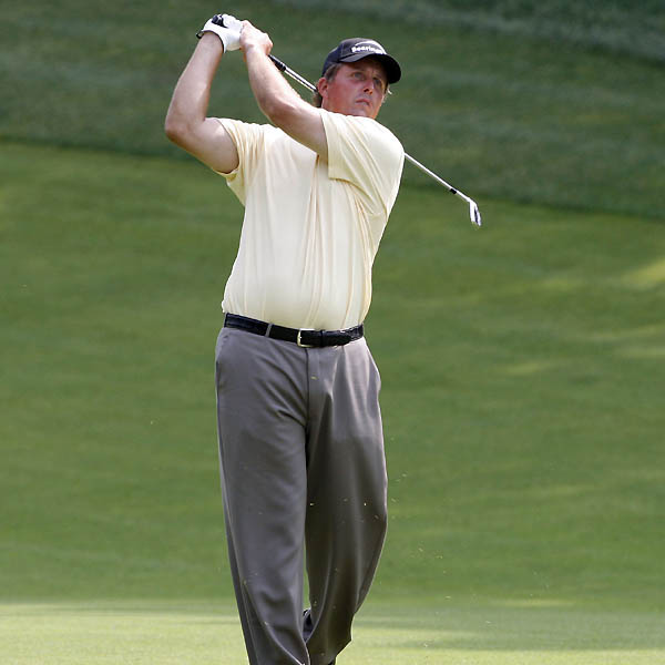 3. PHIL MICKELSON                           World Rank: 2nd                                                      I'm going to assume that Phil's left wrist will be O.K. by next week....What he has going for him is Butch Harmon. Phil is going to be better able to keep the ball in play, thanks to Butch....Phil will probably throw a 64-degree wedge in his bag for the rough, which I think will be old-style Open rough—deep as heck, even around the greens.                                                      TEED UP                           Why Phil has a great chance to win: Oakmont has no trees on the 18th—or any other—hole.