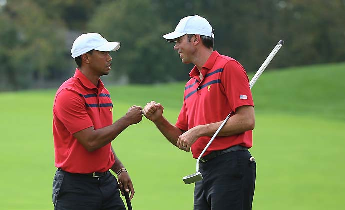 """He doesn't choke in front of Tiger.""                       --Johnny MIller on why Matt Kuchar is a good partner for Tiger Woods."