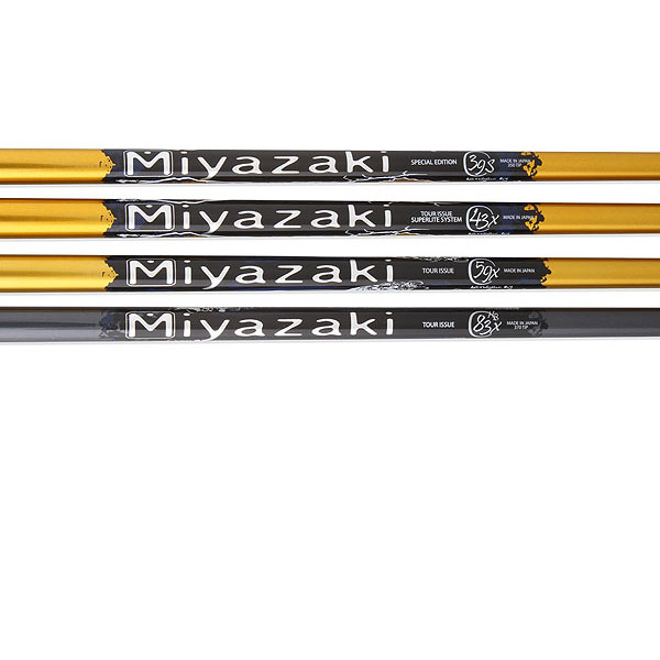 "Miyazaki C.Kua                       $150, miyazakigolfshafts.com                       These sub-60-gram ultralight shafts put the ""light"" in the 2011 Launcher series of Cleveland drivers, which includes the Launcher XL270, SL290 and TL310. The lightest of them all is the mid-trajectory C.Kua 39, which is the standard offering in the XL270. It's designed for players with a smooth transition while the C.Kua 43 has a larger butt section and plays a bit stiffer. The C.Kua 59 is the most stable and promotes a slight fade-bias."