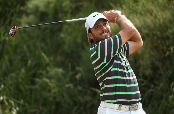 Francesco Molinari made four birdies and four bogeys.