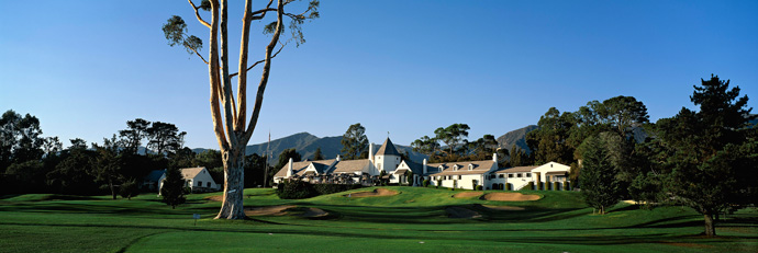 Valley Club of Montecito -- Santa Barbara, Calif.                       Designed by architect Carleton Monroe Winslow Sr., the handsome Norman clubhouse, an unusual look for the area, has been so revered by the members that its architecture has been essentially unchanged in 80 years.