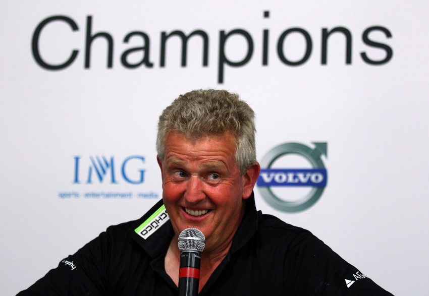 Colin Montgomerie                       Montgomerie dominated European golf in the 1990s, and he is one of the greatest Ryder Cup players ever, with a stellar record of 20-9-7. Montgomerie was plagued by ultra-sensitivity to gallery noise, of which he heard a lot from American fans, and his career has been filled with controversy. He has an account on Twitter, but it's mostly tweets about his charity. We want the opinionated Monty, the one who gave us colorful commentary during the 2012 Ryder Cup.