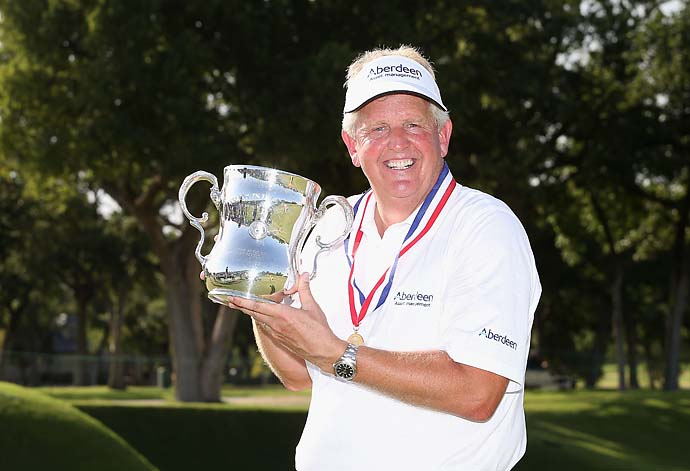"""If anyone thinks these senior majors are easy to win … come on out and try it.""                           --Colin Montgomerie after winning the U.S. Senior Open."
