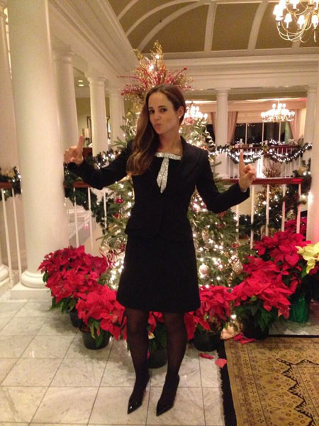 @beatrizrecari: Happy new year from the US! Feliz año desde EEUU! #happynewyear