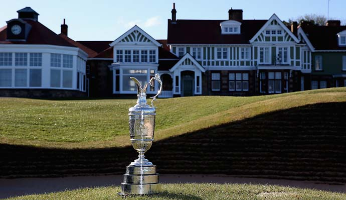 """When you are showcasing one of the world's greatest tournaments, it would be much more palatable if the events were played where there was not the sense of segregation.""                       --HSBC's global head of sponsorship and events Giles Morgan on the R&A taking the Open Championship to male-only clubs like Murifeld [photo]."