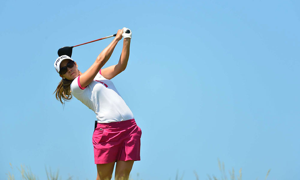 Azahara Munoz beat Karrie Webb, 2 and 1.