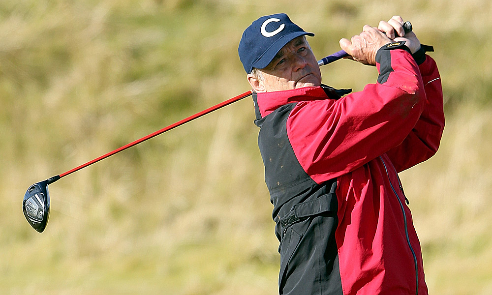 Bill Murray also played Kingsbarns on Friday.